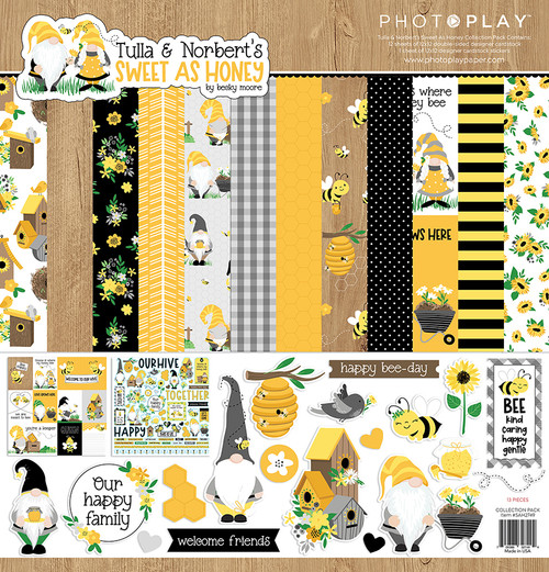 PhotoPlay Tulla & Norbert's Sweet As Honey Collection Pack