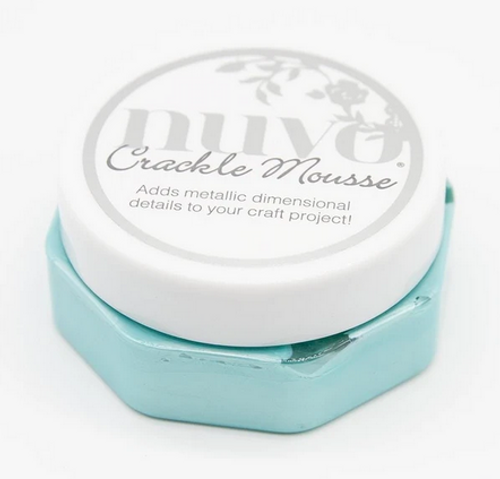 Nuvo Crackle Mousse: Water Nymph