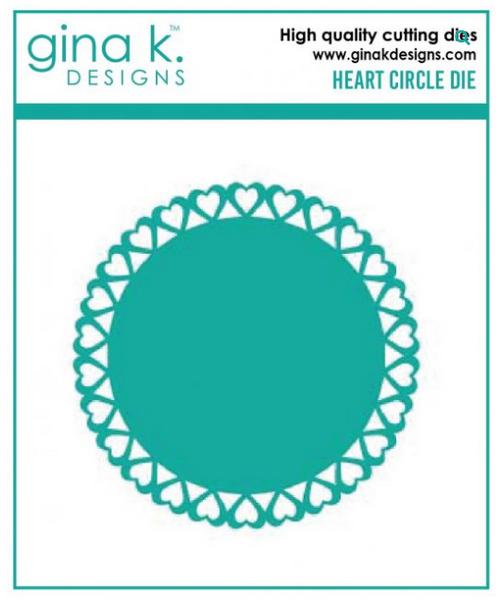 Gina K. Designs Cutting Dies: Heart Circle