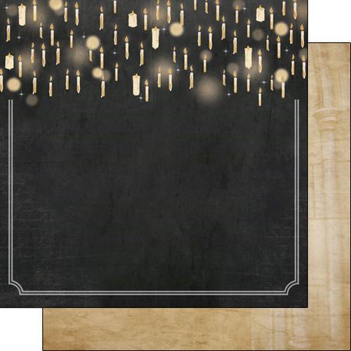 Scrapbook Customs 12x12 Wizard Themed Paper: Rooms