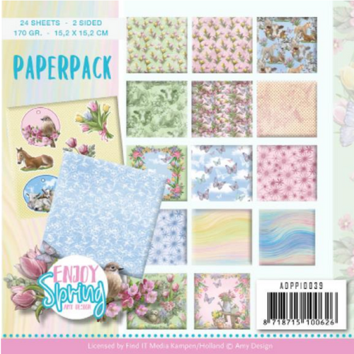 Find-It Media 6x6 Paper Pad: Enjoy Spring