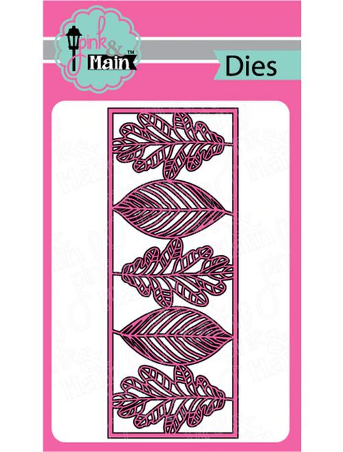 Pink & Main Slim Line Metal Dies: Leafy