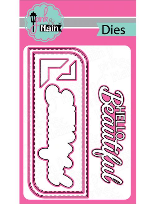 Pink & Main Slim Line Metal Dies: Beautiful
