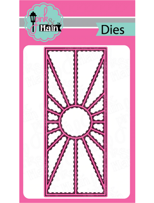 Pink & Main Slim Line Metal Dies: Sunburst