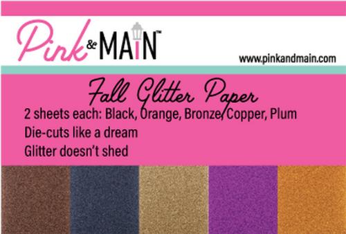 Pink & Main 6x6 Paper Pad: Glitter - Fall