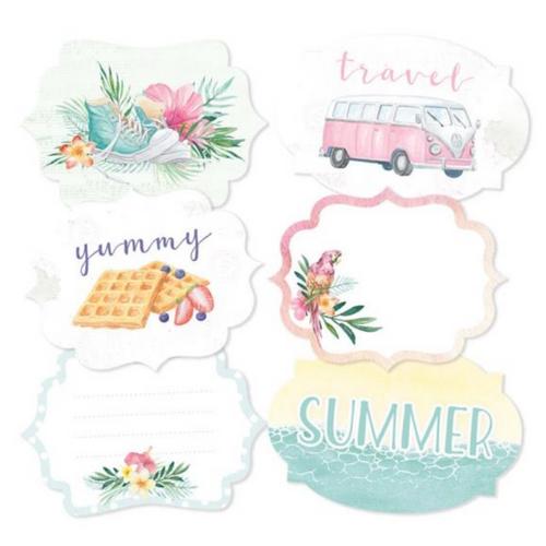 P13 Summer Vibes Decorative Tags: Set 4