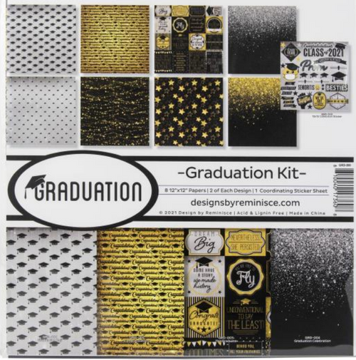 Reminisce 12x12 Collection Pack: Graduation Day