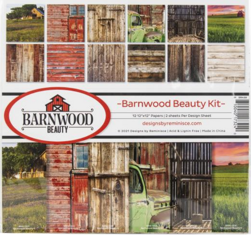 Reminisce 12x12 Collection Pack: Barnwood Beauty