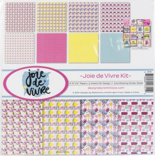 Reminisce 12x12 Collection Pack: Joie de Vivre