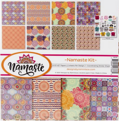 Reminisce 12x12 Collection Pack: Namaste