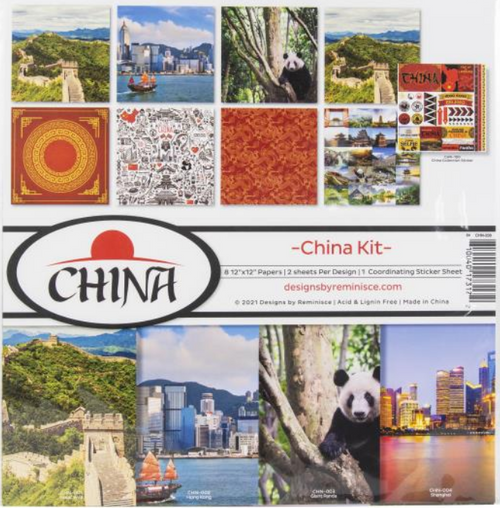 Reminisce 12x12 Collection Pack: China