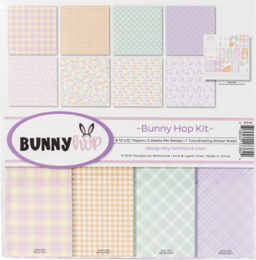 Reminisce 12x12 Collection Pack: Bunny Hop