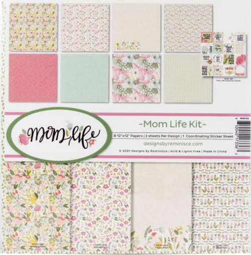 Reminisce 12x12 Collection Pack: Mom Life
