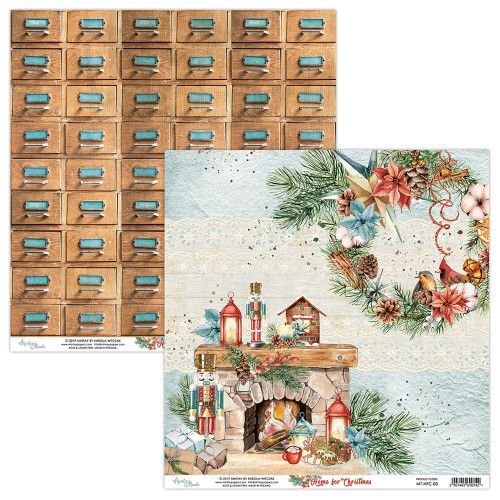 Mintay Papers 12x12 Paper: Home for Christmas - 03