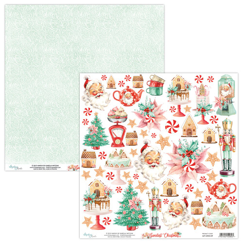 Mintay Papers 12x12 Paper: Sweetest Christmas - Elements