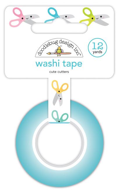 Doodlebug Cute & Crafty Washi Tape: Cute Cutters
