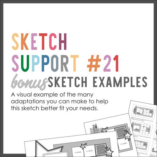 * DIGITAL DOWNLOAD * Allison Davis for SG | Sketch Support Bonus Sketch Examples #21