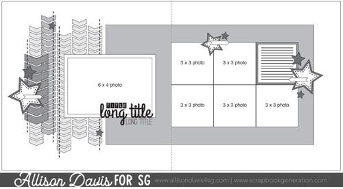 * DIGITAL DOWNLOAD * Allison Davis for SG Freebies Sketch Support   Free Sketch #21