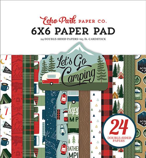 Echo Park Let's Go Camping 6x6 Paper Pad