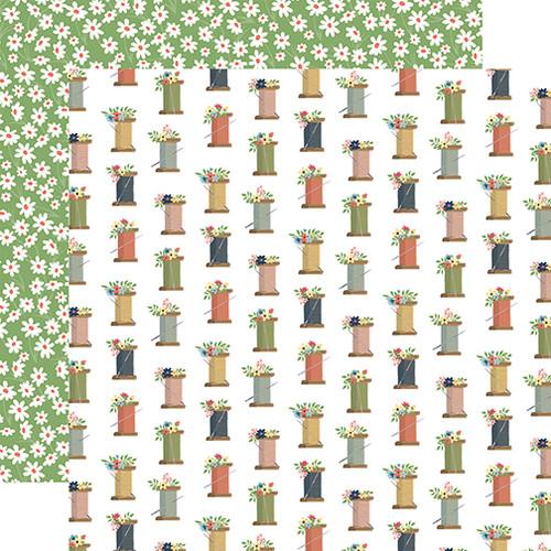 Carta Bella Craft & Create 12x12 Paper: Spools