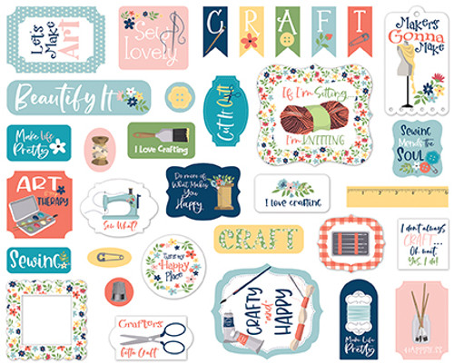 Carta Bella Craft & Create Ephemera