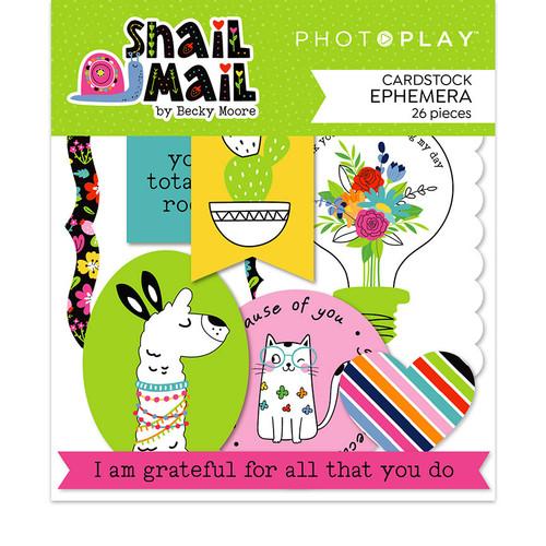 PhotoPlay Snail Mail Ephemera