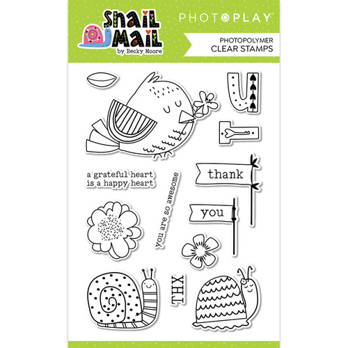 PhotoPlay Snail Mail 4x6 Stamp Set