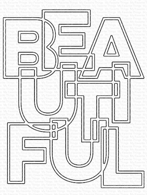 My Favorite Things Die-namics: Bold Beautiful