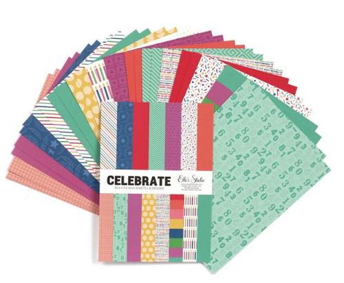 Elle's Studio 6x8.5 Paper Pad: Celebrate
