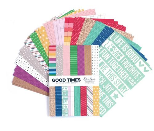 Elle's Studio 6x8.5 Paper Pad: Good Times