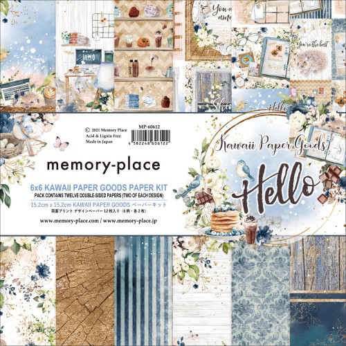 Memory Place 6x6 Paper Pad: Hello