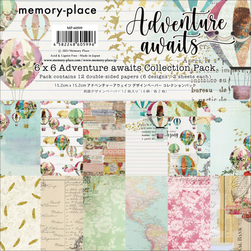 Memory Place 6x6 Paper Pad: Adventure Awaits
