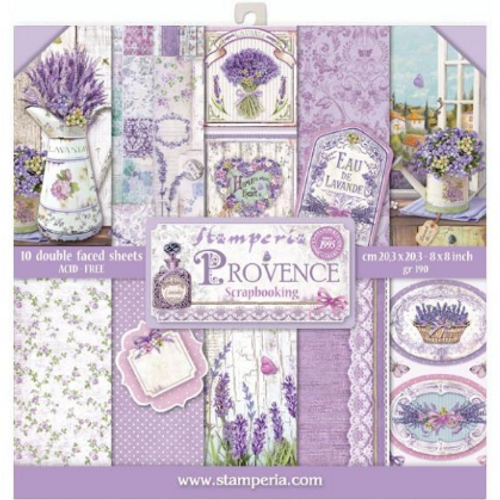 Stamperia 8x8 Paper Pack: Provence