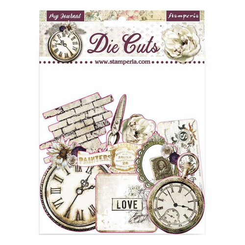 Stamperia Romantic Collection - Journal Diecuts (37 pcs)