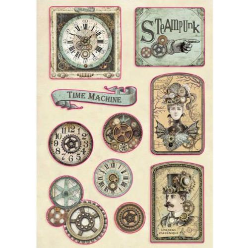 Stamperia Voyages Fantastiques Wooden Shapes #97