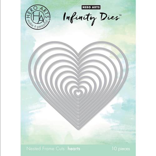 Infinity by Hero Arts Dies: Nesting Hearts Infinity