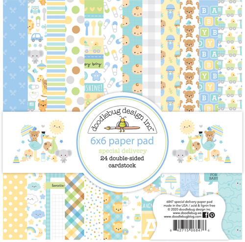 Doodlebug 6x6 Paper Pad: Special Delivery