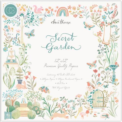 Craft Consortium 12x12 Paper Pad: Secret Garden