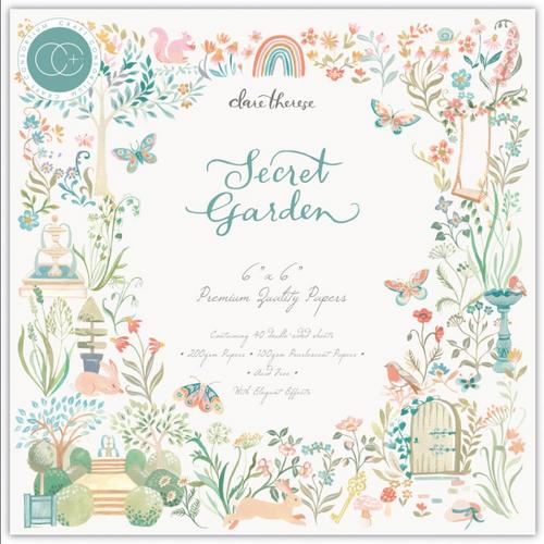 Craft Consortium 6x6 Paper Pad: Secret Garden