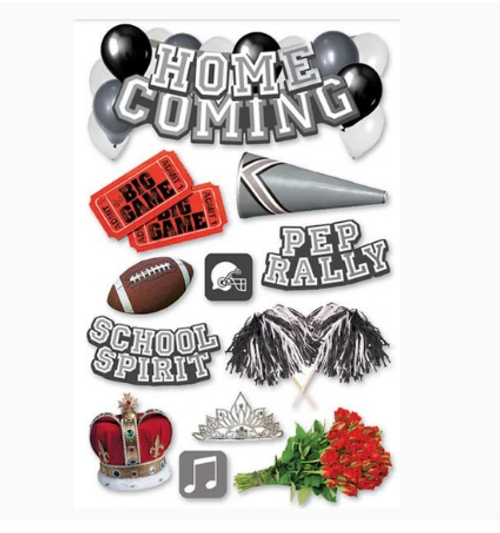 Paper House 3D Sticker: Homecoming
