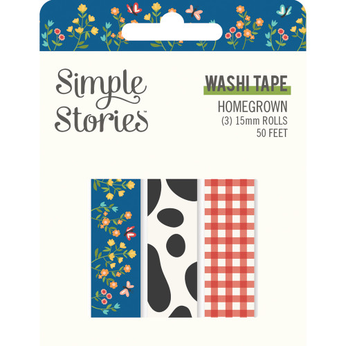 Simple Stories Homegrown Washi Tape