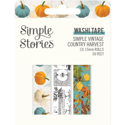 Simple Stories Simple Vintage Country Harvest Washi Tape
