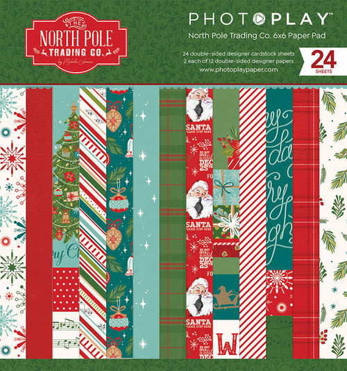 PhotoPlay The North Pole 6x6 Paper Pad