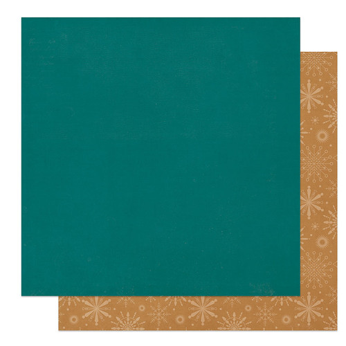 PhotoPlay The North Pole 12x12 Paper: Solids + Blue/Gold