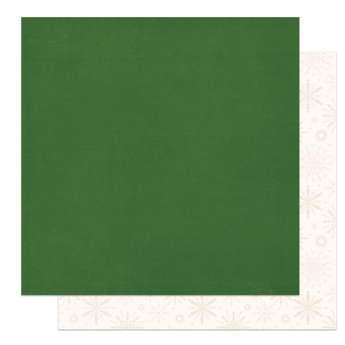 PhotoPlay The North Pole 12x12 Paper: Solids + Green/Cream