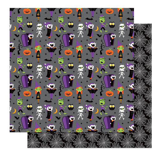 PhotoPlay Monster Mash 12x12 Paper: Costume Party