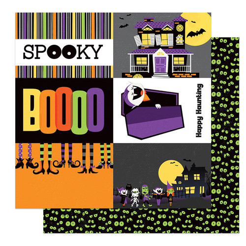 PhotoPlay Monster Mash 12x12 Paper: Spooky