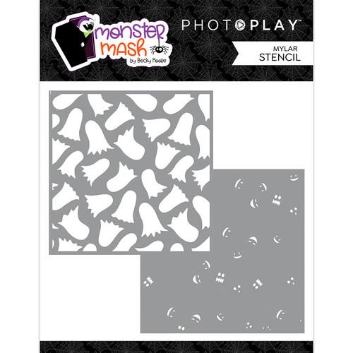 PhotoPlay Monster Mash 6x6 Stencil (2-piece)