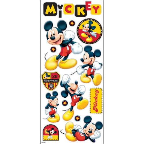 EK Success Large Flat Sticker Sheet: Mickey Mouse