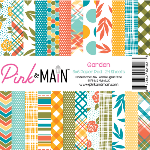 Pink & Main 6x6 Paper Pad: Garden